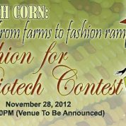 Fashion for Biotech Contest – Biotech corn: from Farms to Fashion Ramp